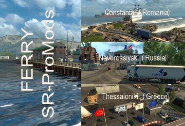 Ferry Connection for Maps: Promods 2.41-Southern Region 7.8