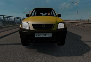 Font of Russian license plates scs for RusMap v1.1
