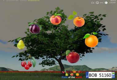 FS19 Fruits Trees By BOB51160 v1.0.0.0