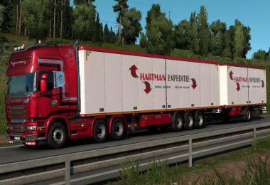 Hartman Expeditie Truck & Trailer skins v1.0