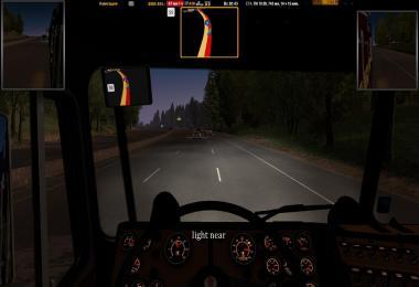 Headlights ETS2 1.35.x