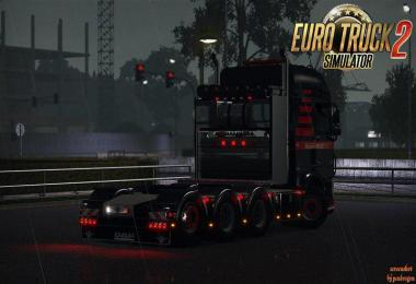 Heavy Haulage Chassis Addon for DAF XF Euro 6 1.35.x