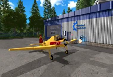 Hummel Z-37 Flying Fertilizer Spreader v1.0