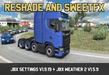 JBX Settings v1.9.19 Reshade and SweetFX