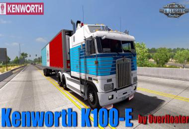 Kenworth K100-E + Interior v0.95 by Overfloater 1.35
