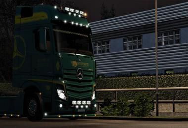 Leo Robertz skin for Mercedes Actros MP4 v1.0