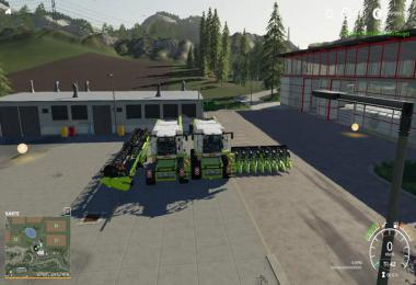 Lexion 780 with capacity selection and cutters v1.1