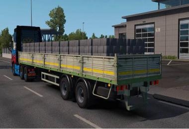 MAZ flatbed trailer in ownership 1.35.x