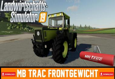 MB TRac front weight v1.0