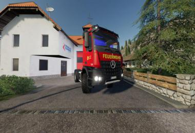 Mercedes Benz Fire Department Edition v1.1
