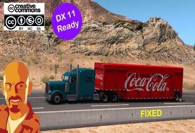 MICKEYS BEVERAGES TRAILER REWORKED FIXED 1.35.x