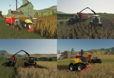 Multi Harvest Headers v1.0.0.0