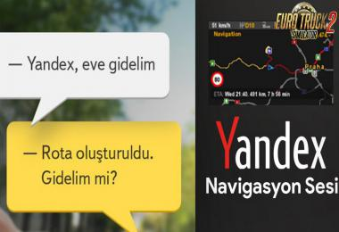 Navigation in Turkish - Yandex Turkce Navigasyon Sesi 1.35.x
