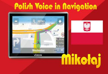 Navigation Voice in Polish Language 1.35.x