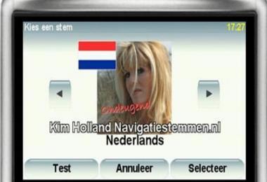 Navigation Voice of Kim Holland - Tomtom (dutch) 1.35.x