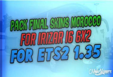 Pack Morocco Skins 2.8 Irizar i6 - ETS2 1.35