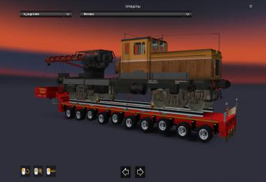 Pack trailers Heavy Cargo for Russian open spaces v5.0
