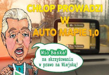 Polish Voice Chlop Prowadzi W Auto Mapie v1.0