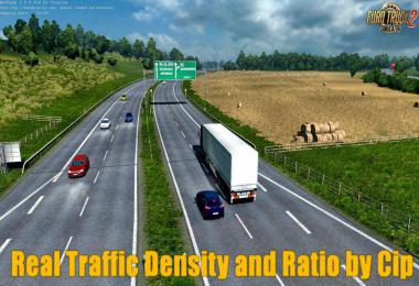 Real Traffic Density and Ratio 1.35.f