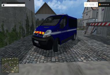 Renault Trafic Gendarmerie By CYRIL854 v1.0
