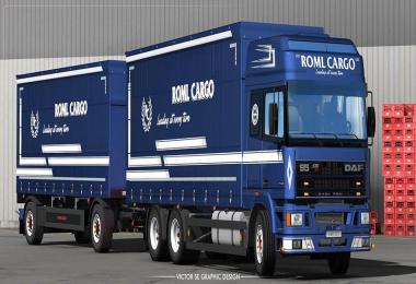 ROML Cargo DAF 95 ATi Deluxe Edition Skinpack 1.35