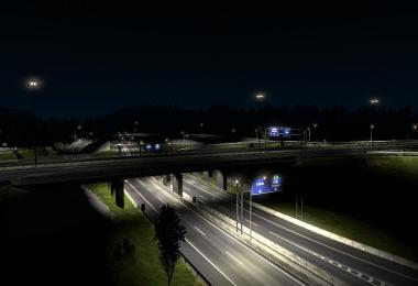 Rotterdam Brussel Highway + Calais Duisburg Road Interchange v2.3