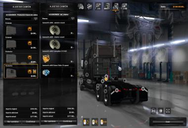 Volvo VNL no crash with Horns and back Rack v1.0