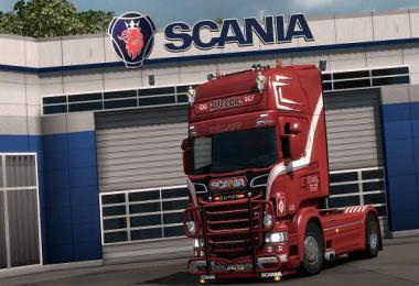 Weeda Scania RJL 8K Paintwork 1.35