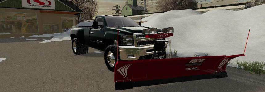 2010 Chevy 3500 Long Bed DRW with plow mount v1.0
