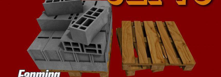 3 MODELES DE PARPAING 20x20x50 SUR PALETTE v1.0