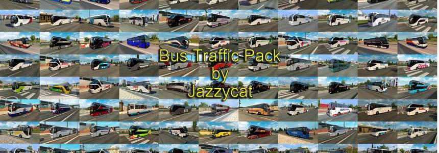Bus Traffic Pack by Jazzycat v7.5