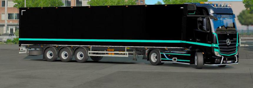 Combo Power Actros - ets2 1.35