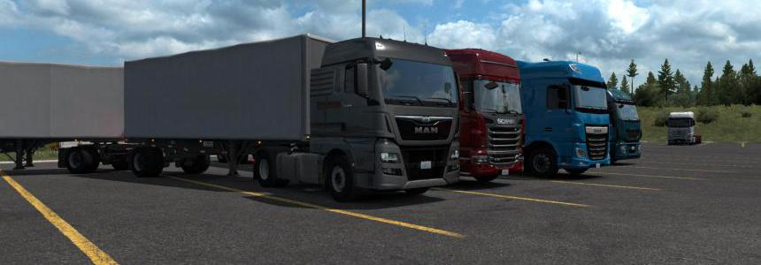 ETS2 Trucks for ATS 1.35