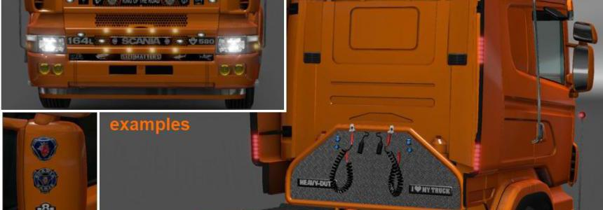 Exhausts & Accessories for Trucks v2.1 1.35.x