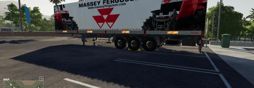 FS19 MASSEY FERGUSON AUTOLOADER Trailer v1.0