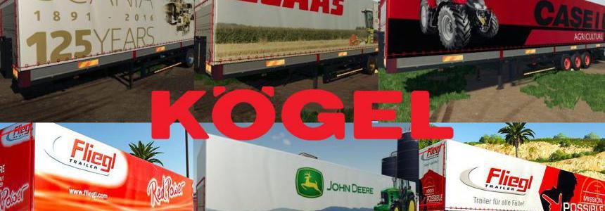 FS19 Mega Kogel Trailers Pack v1.0