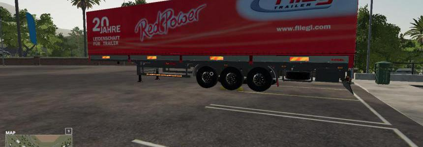 RED POWER FLIEGL AUTOLOADER Trailer v1.0