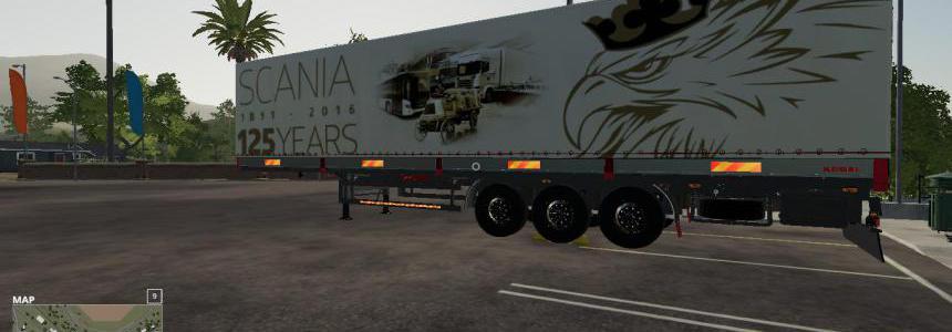 Scania 125 Years Kogel Autoloader Trailer v1.0