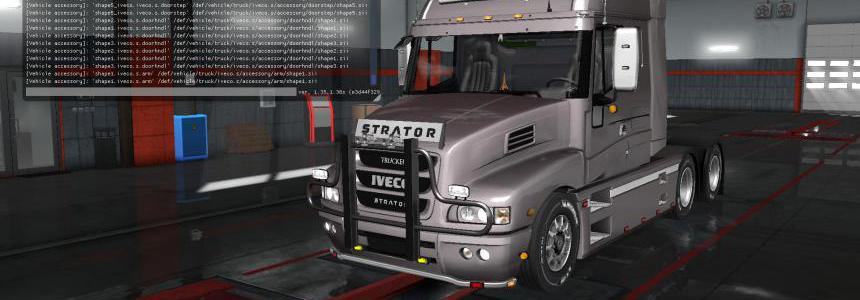 Iveco Strator version 07.08.19 1.35.x
