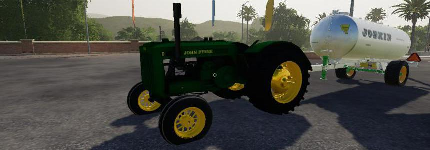 John Deere model D beta