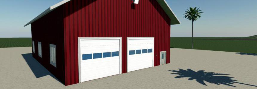 Large Garage FS19 v1.0