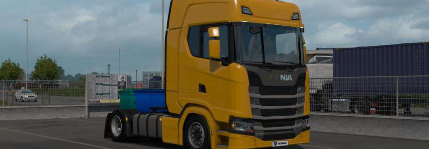 Low deck chassis addon for Eugene Scania Next Gen v1.1
