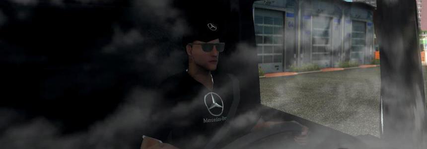 Mercedes Benz Driver Skin 1.35.x