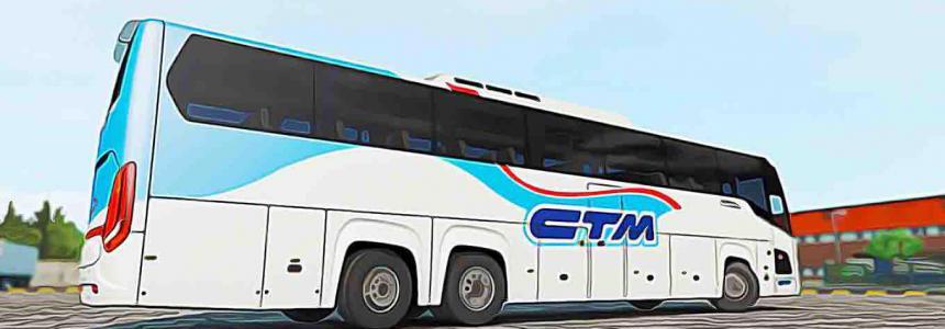 Pack MohSkinner Bus Scania Touring v2.4