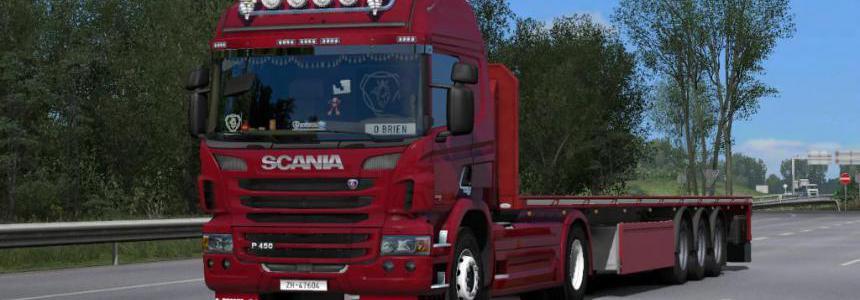 Scania P Standalone (GT-Mike port) v1.8 1.35