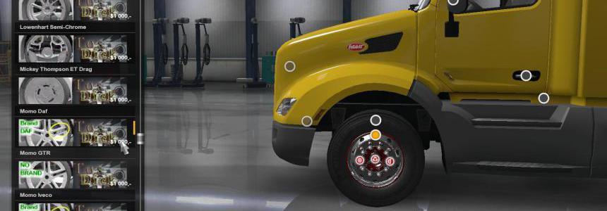 Super Sport Wheels Pack v2.0 ATS 1.35
