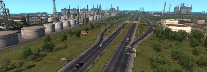 US Expansion + Coast to Coast I80 Wells Road Connection 1.35.x