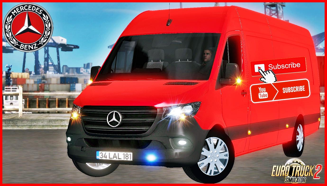 Mercedes Benz Sprinter 2019 Ets2 Mod 1.35