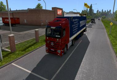 Mercedes Actros MP3 Reworked v2.9