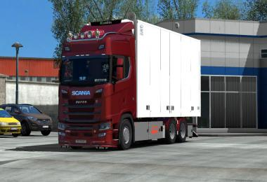 Tandem addon for Next Gen Scania by Siperia 1.35